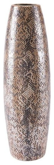 Zuo Decor Ceramic Vase, Brown
