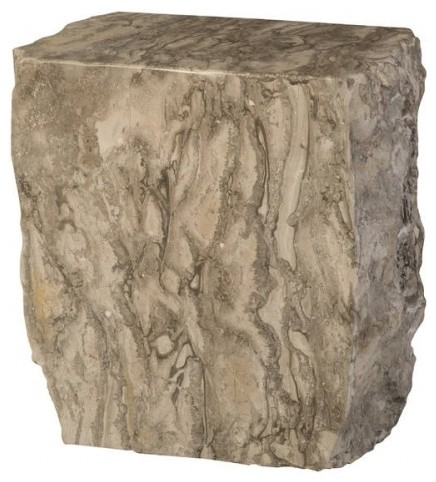 Prime 18 Tall Marble Stool Solid Stone Grey Honed Polished Finish Smooth Heavy Uwap Interior Chair Design Uwaporg