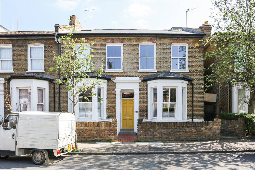 Houzz Tour A Double Fronted Semi Gets Divided Into Two Houzz Uk