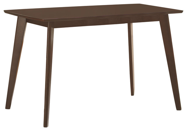 Kersey Dining Table With Angled Legs.