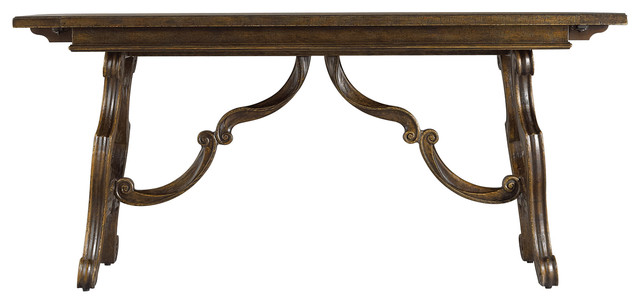 Stanley Furniture Rustica Dining Room Harvest Table - Traditional