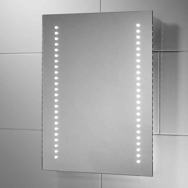 battery powered led bathroom mirror isla battery powered led mirror 22613