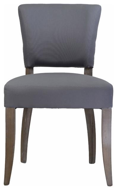 Superb Adele Side Chair Frost Gray Machost Co Dining Chair Design Ideas Machostcouk