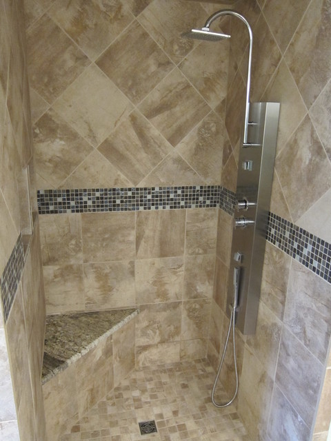 Bathroom Shower Remodel Project Modern