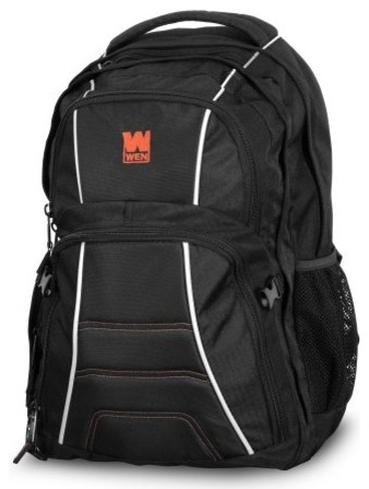 Four-Compartment Heavy Duty Backpack With Laptop Storage.