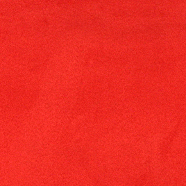 Red Microsuede Suede Upholstery Fabric By The Yard