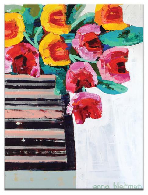 Tulips, Canvas Print.