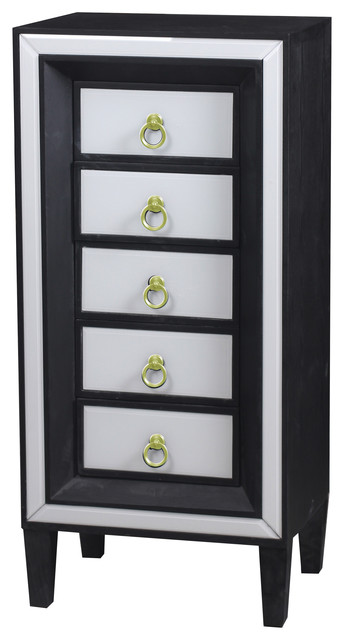 Tall Beverly Lingerie Chest - Transitional - Accent Chests And Cabinets - by Statements by J