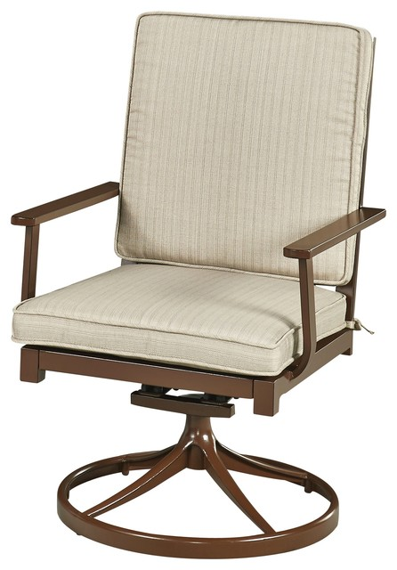 Home Styles Furniture Key West Swivel Rocking Chair