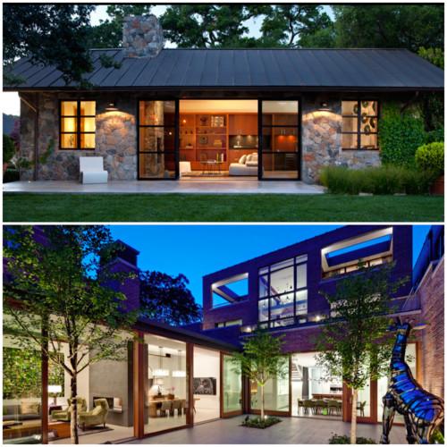 Meglio vivere in una casa su un solo piano o su diversi for Progetti di case moderne a un solo piano
