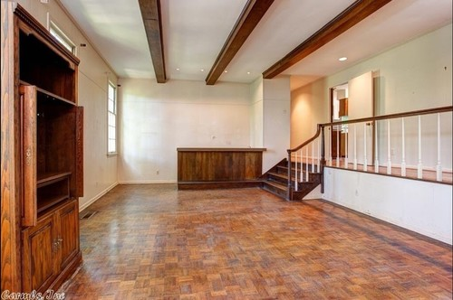 sunken living room railing what to do with hallway to nowhere railing and sunken 13996
