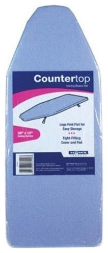 "Homz Counter Top Ironing Board, 12""x30"", Slate Blue."