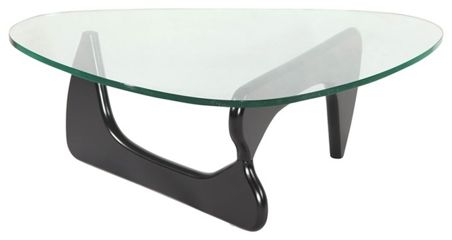 Triangle Coffee Table Midcentury Coffee Tables By Hampton Modern - Mid century triangle coffee table