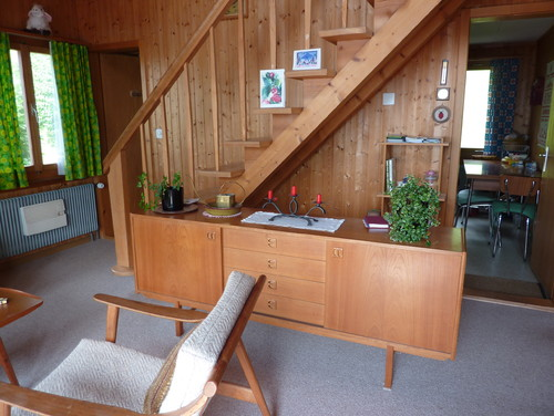 1970s chalet style house