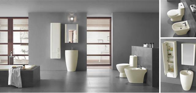 Modern Bathroom Pedestal Sink   Fiori   Ivory   21 65  bathroom sinks. Modern Bathroom Pedestal Sink   Fiori   Ivory   21 65
