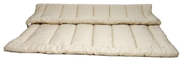 Mymerino Topper 1 5 Organic Merino Wool Mattress Full 54x76