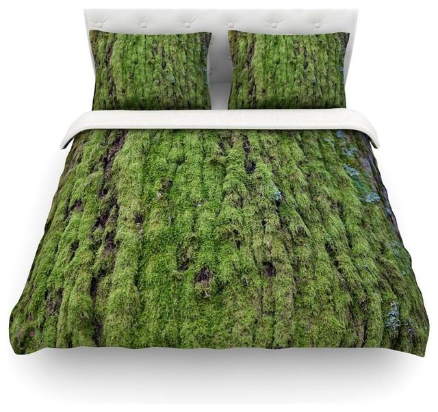 Susan Sanders Quot Emerald Moss Quot Green Nature Duvet Cover