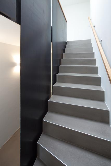 einfamilienhaus in meerbusch modern treppen essen. Black Bedroom Furniture Sets. Home Design Ideas