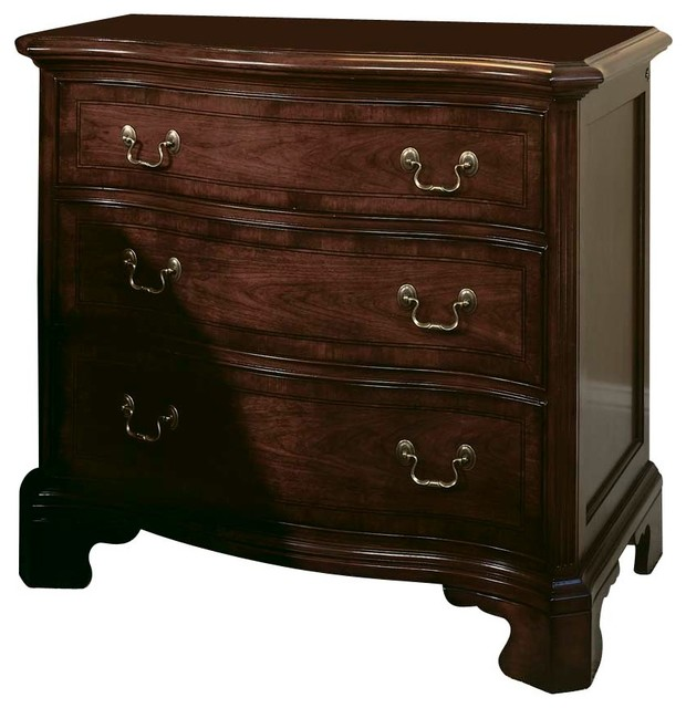 American Drew Cherry Grove Bachelor Chest In Antique