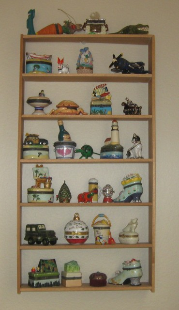 DIY Knick Knack Cabinet - Contemporary - San Diego