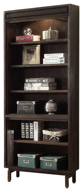 blair bookcase burnished cocoa 30 bookcases by