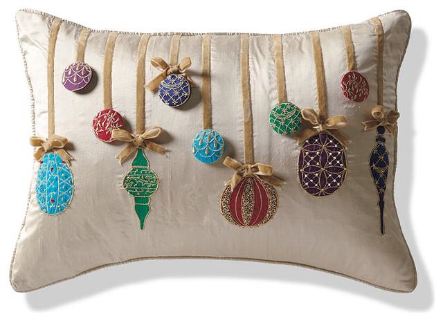 Ornament Decorative Pillow - Frontgate Christmas Decor ...