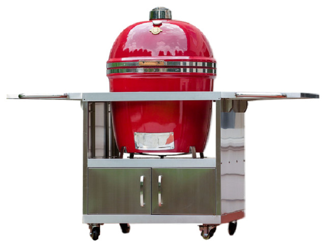 Grill Dome, Smoker Station, Red.