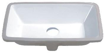 21 Porcelain Ceramic Vanity Undermount Bathroom Vessel Sink.