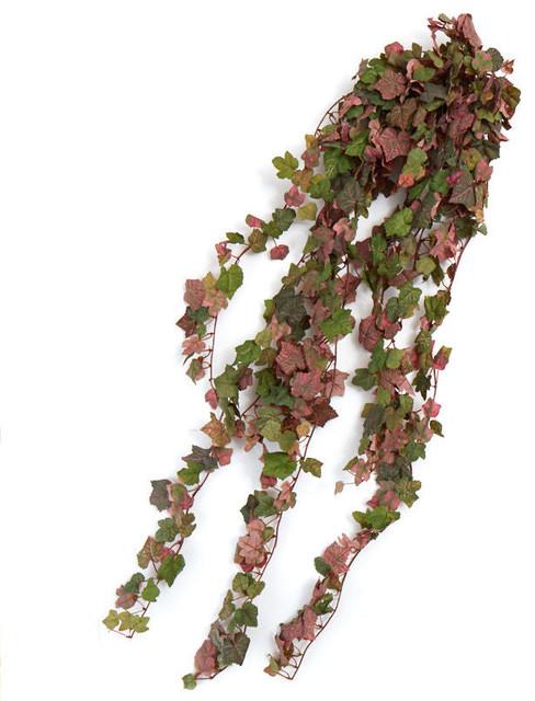 Grape Leaf Bushes, Set Of 2.