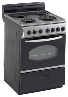 Avanti 24 Quot Stainless Steel Electric Range Oven Gas