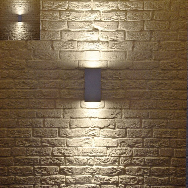 Big Theo Up-Down Outdoor Wall Light - Modern - Outdoor ...