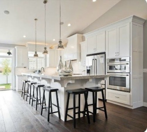 8 Kitchen Island: Give Up Kitchen Table For Island Seating? No Other Inside