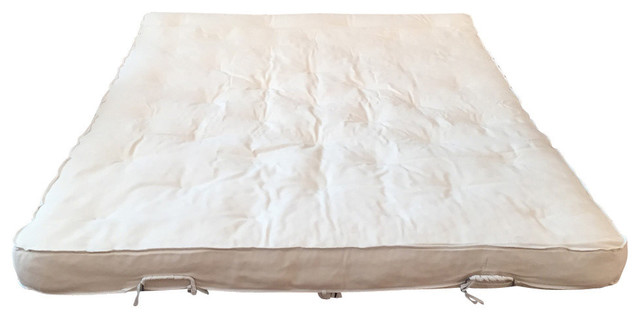"Natural Sofa Bed Mattress, 38""x72""."