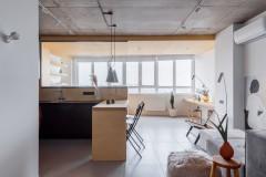 Houzz тур 56 кв.м.  студия для молодого врача (14 photos)