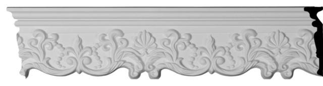 "Emery Panel Moulding, 5 1/8""h X 1 1/8""p X 94 1/2""l."