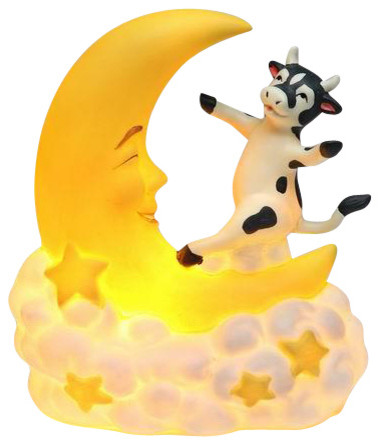 Cow Jumping Over the Moon Nightlight - Contemporary - Night-lights ...