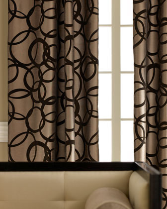 Curtains An Ideabook By Anita Bross, Tan And Brown Curtains
