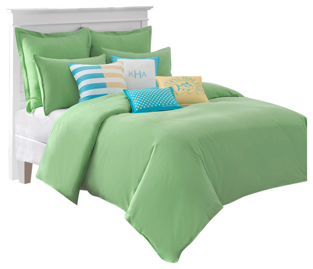 southern tide skipjack chino twin kiwi comforter - contemporary