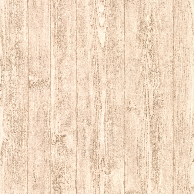 Orchard Light Gray Wood Panel Wallpaper