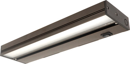 NICOR 12 inch LED Under Cabinet Light Fixture in Oil-Rubbed Bronze