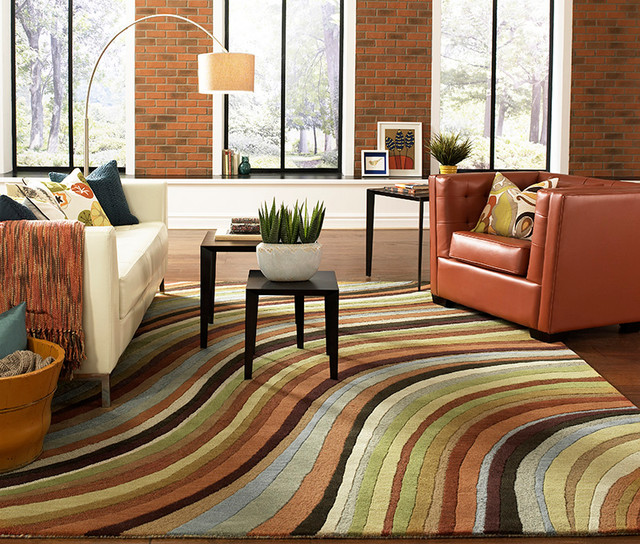 Surya Oasis Rug Oas 1007 Contemporary Living Room