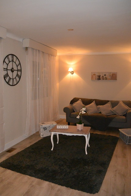 Home staging mme b for Salon classique chic