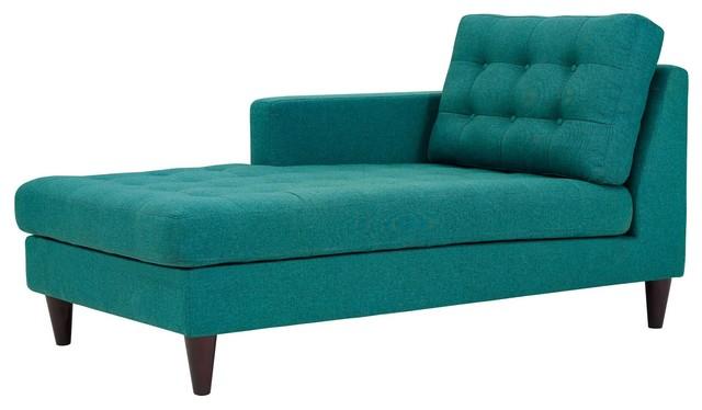 Pleasant Modern Urban Living Accent Sofa Chaise Chair Aqua Blue Cjindustries Chair Design For Home Cjindustriesco
