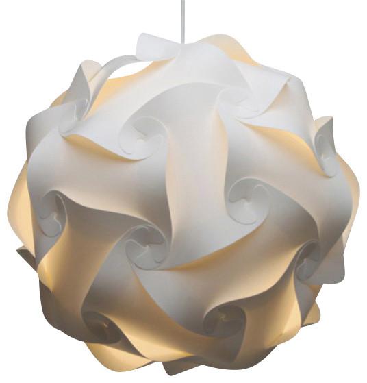 Swirl hanging pendant lamp contemporary pendant lighting by swirl hanging pendant lamp aloadofball Gallery