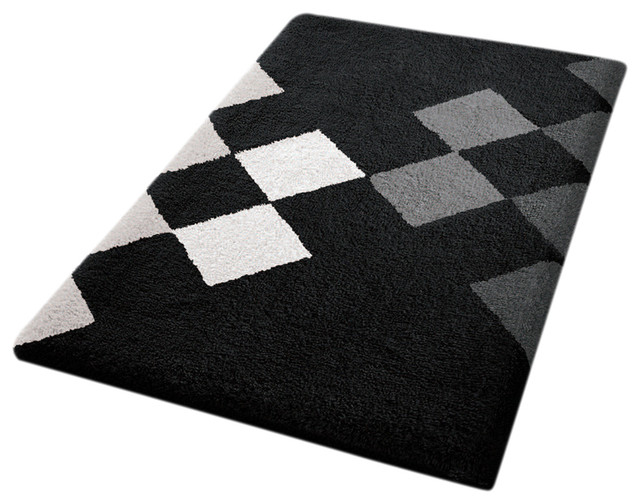 Black And White Bathroom Rugs The Image Kid Has It