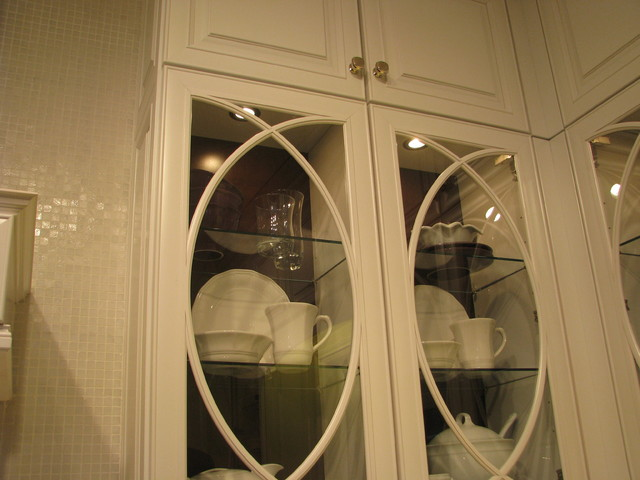Decorative Glass Cabinet Doors Traditional