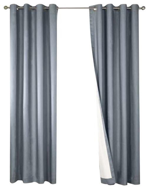 thermalogic nantucket blackout 54 x 108 grommet window. Black Bedroom Furniture Sets. Home Design Ideas