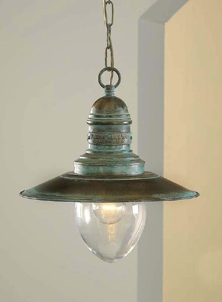 Fredeco nautical pendant mediterranean pendant for Mediterranean lighting fixtures