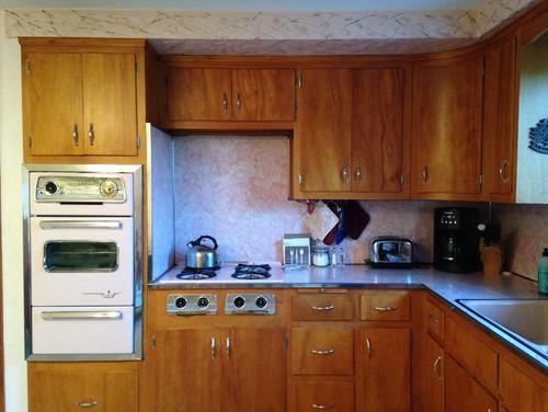 50 S Pink Kitchen Keep Refurbish Or Replace