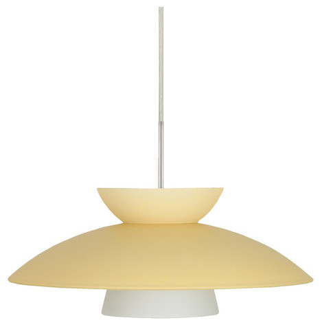 Besa Lighting 1jt-451397-Led Trilo 1 Light Led Cord-Hung Pendant.
